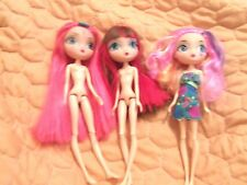 "10"" SPIN MASTER LA DEE DA LOT OF 3 LIV DOLLS 5+"