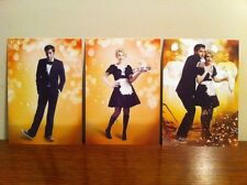 Dr Who BBC Postcard SET OF 3 CHRISTMAS SPECIAL  ,DAVID TENNANT-KYLIE MINOGUE -