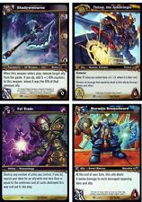 WOW WARCRAFT TCG ICECROWN CITADEL COMPLETE 30-CARD FOIL SET w/ SHADOWMOURNE