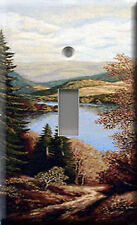 Single Light Switch Plate Cover - Lake 500