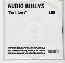 (EF304) Audio Bullys, I'm In Love - DJ CD