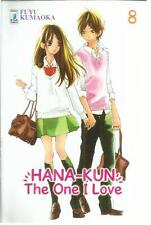 HANA KUN THE ONE I LOVE 8 STAR COMICS NUOVO