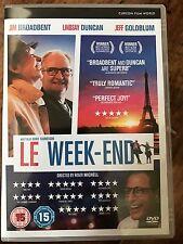 Jim Broadbent Jeff Goldblum LE WEEK-END ~ 2013 British Weekend Comedy   UK DVD