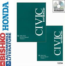 2006 2007 2008 2009 2010 Honda Civic Hybrid Shop Service Repair Manual DVD Engin