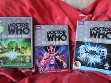 Doctor Who - DVD collection  DVD joblot -  3 Doctors - Kings Demons - Kroll