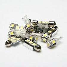 6pcs For 2000-2012 Toyota Corolla LED Bulb Lamp Interior Package Kit White Light