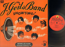 J GEILS BAND SHOWTIME 1982 LP MINT Photo-Sleeve  Peter Wolf Magic Dick LIVE