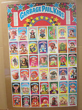 vintage Garbage Pail Kids Poster poster cartoon Chewing Gum 1985 Topps 5644