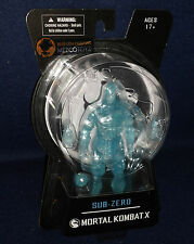 "Mortal Kombat X SDCC 2015 Exclusive SUB-ZERO ICE CLONE 6"" Action Figure Mezco"