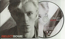 David Bowie I SELECT ISELECT - PROMO-CD NEU - VERSAND KOSTENLOS!