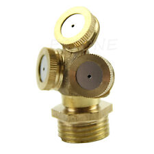 Brass Agricultural Misting Spray Nozzle Garden Sprinkler Irrigation System NEW