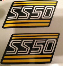 HONDA SS50 SIDE PANEL DECALS