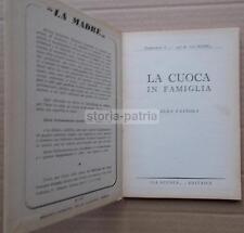 CUCINA_GASTRONOMIA_RICETTE_RICETTARIO D'EPOCA_TAVOLA_ALIMENTAZIONE_IGIENE_DOLCI
