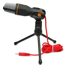 Professional Condenser Sound Podcast Studio Microphone Mic For PC Laptop Skype