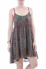 New Free People One Imperial Strappy Women`s Mini Dress Black Size XS BCF57