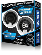 Vauxhall Astra H Rear Door speakers Fli car speaker kit + adapter pods ring 150W