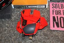 Mad Catz Cyborg RAT R.A.T. 9 Wireless Gaming Mouse FOR PARTS 09445