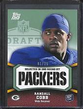 2011 Topps Rated Rookies Green #129 Randall Cobb No 1 of 25