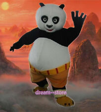 【SALE】 NEW KUNG FU PANDA MASCOT COSTUME ADULT SIZE PO HALLOWEEN DRESS FAST SHIP