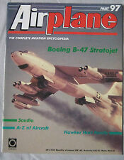 Airplane Issue 97 Boeing B-47 Stratojet Cutaway drawing & poster, Hawker Hart