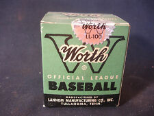 Worth Official Little League Playing Baseball With Original Box SEALED