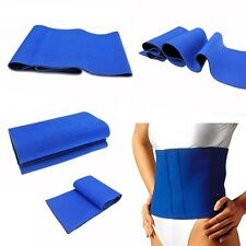 Waist Trimmer Exercise Wrap Belt Stomach Slimming Body Shaper Fat Weight Loss US