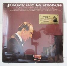 HOROWITZ-PLAYS RACHMANINOFF ON COLUMBIA CLASSICAL LP-ORIGINAL SEALED! GRAMMY HYP