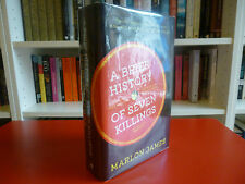 Marlon James, 'A Brief History of Seven Killings' SIGNED LINED 1st/1st, Booker