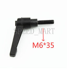 Machinery M6 x 35mm Threaded Knob Adjustable Handle Clamping Lever