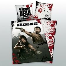 THE WALKING DEAD BETTWÄSCHE RICK+DARYL EXKLUSIVMODELL 100% BW 135x200 CM NEU TOP