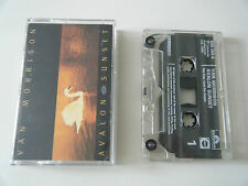 VAN MORRISON AVALON SUNSET CASSETTE TAPE POLYDOR 1989