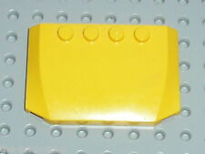 Capot LEGO yellow wedge ref 52031 / Sets 7249 7685 7344 3677 7936 7891 ..