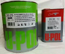 5 LTR 2K Primer Car Paint U-Pol High Build BLACK