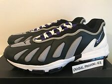NIKE AIR MAX 96 XX US 9.5 UK 8.5 43 870165-001 LAB BLACK CONCORD WHITE PURPLE