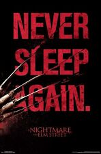 NIGHTMARE ON ELM STREET - NEVER SLEEP AGAIN POSTER - 22x34 - MOVIE 14925