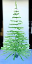 FEATHER TREE GREEN/SILVER TINSEL TREE 6' Christmas Holidays & Retail Displays