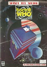 RARE DOCTOR WHO Magazine - An Adventure In Time and Space - Season 10 - #23