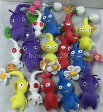 NEW set of 15PCS Game Plush Pikmin Plush Leaf/Bud/ Flower Stuffed plush