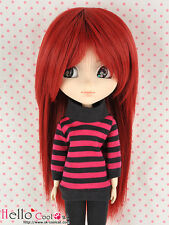 "【HT-1516S】Pullip Taeyang DAL 8.0~9.5"" HP Short Straight Wigs # Deep Red"