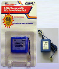 Nikko 4.8V NiCd Battery Pack and Charger
