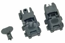 AIRSOFT GEN 2 BACK UP SIGHTS M SERIES IRON SIGHT BLACK UK