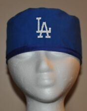 Men's LA Dodgers Embroidered Scrub Cap/Hat - One Size Fits Most