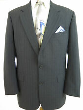 Brooks Brothers Wool Blend Gray Striped Blazer Jacket Sport Coat 41 R EUC Israel