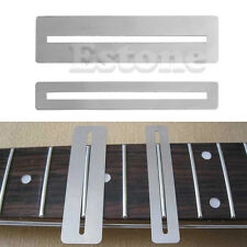 Fret fingerboard protectors- set of 2- wide and narrow- stainless steel