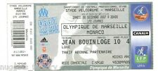 Billet  / Place  OM Olympique de Marseille - OM vs Monaco  ( 046 )