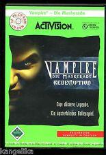 Vampire--Die Maskerade--PC  CD ROM--Vollversion-in Deutsch--