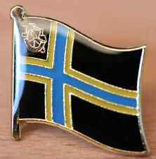 Caithness Scotland County Flag Enamel Pin Badge UK Great Britain