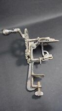 Antique Cast Iron Hand Crank Apple Peeler By  Goodell Co. Antrim N.H.