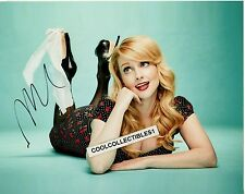 """MELISSA RAUCH """"THE BIG BANG THEORY"""" IN PERSON SIGNED 8X10 COLOR PHOTO 4 """"PROOF"""""""