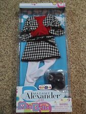 "18"" MADAME ALEXANDER MIA BELLA DOLL OUTFIT + SHOES-NIB-FITS AMERICAN GIRL-BATTAT"